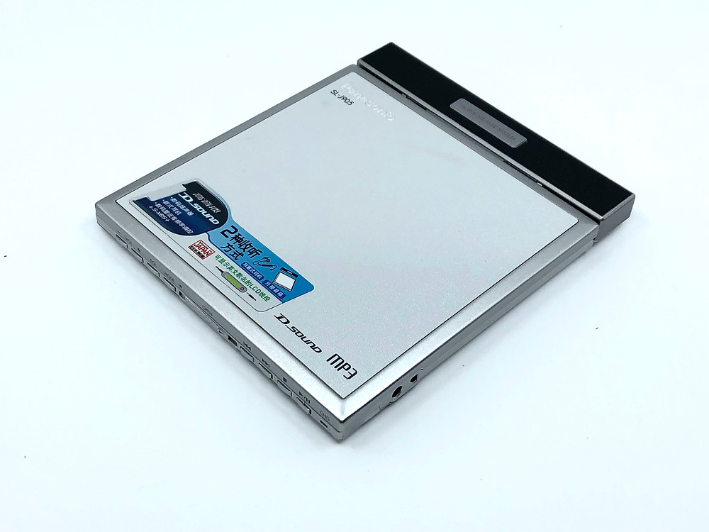 Panasonic SL-J905 Portable CD MP3 Player
