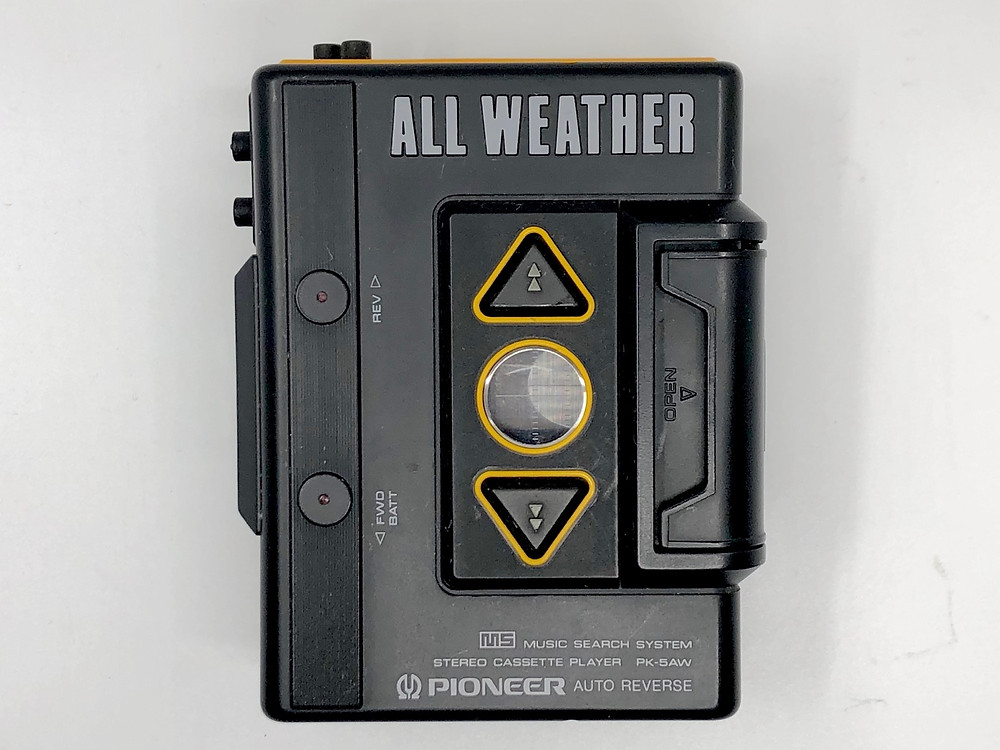 Pioneer PK-5AW All Weather Portable Cassette Player