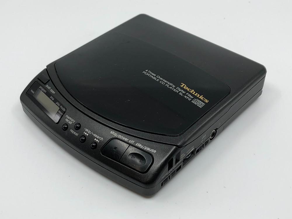 Technics SL-XP6 Portable CD Player