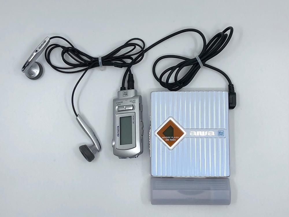 Aiwa AM-HX55 Portable MiniDisc Player