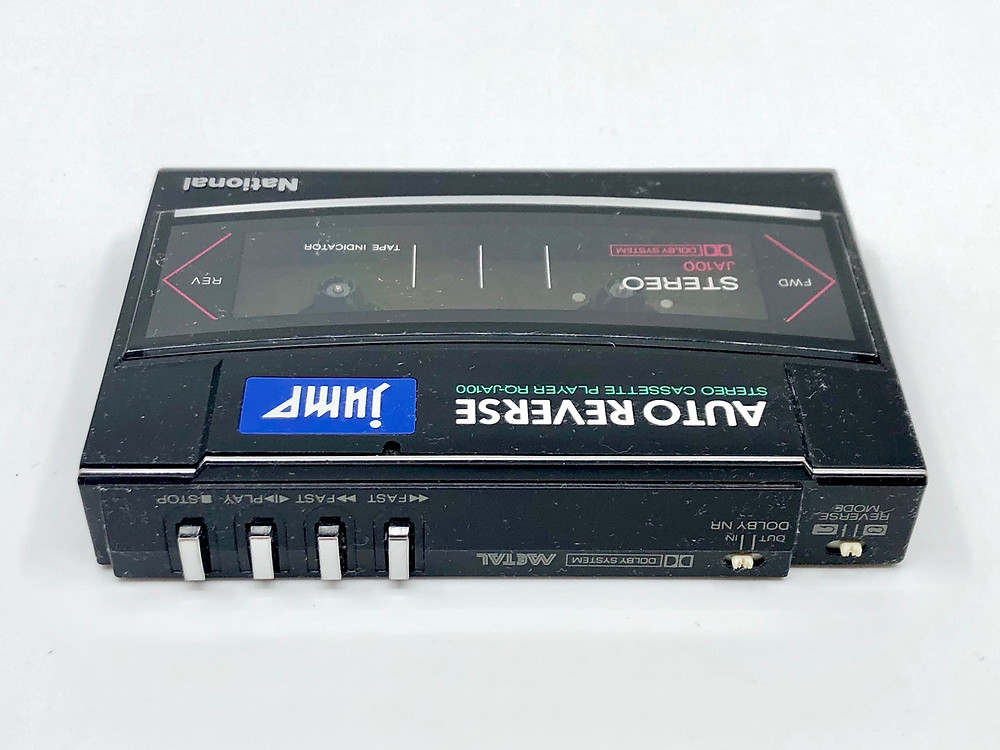 National JUMP RQ-JA100 Collapsible Portable Cassette Player