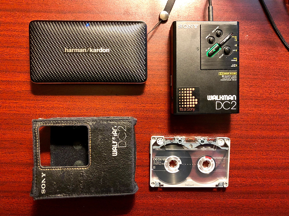 Sony Walkman WM-DC2 Portable Cassette Player