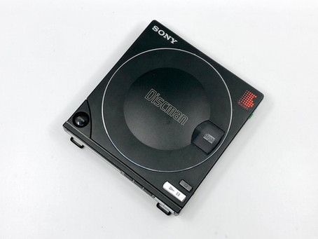 Sony Discman D-10 D-100 Portable CD Player