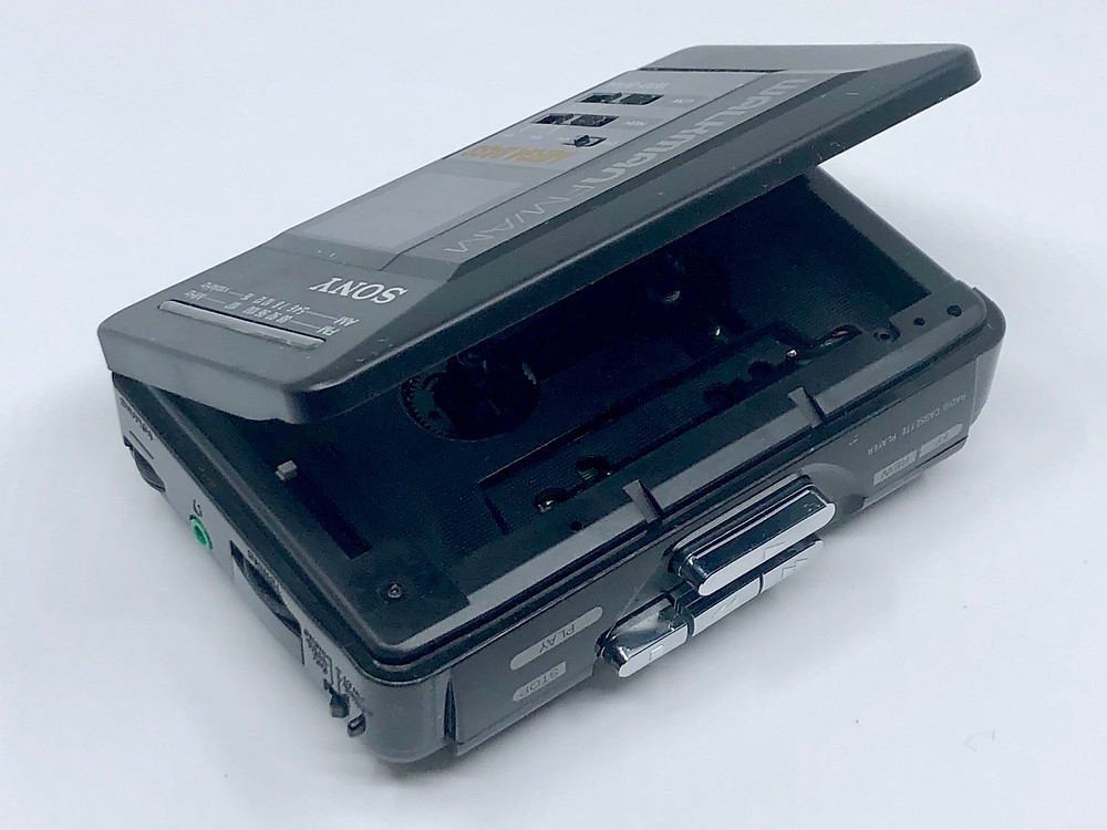 Sony Walkman WM-BF44 Portable Cassette Player with Radio