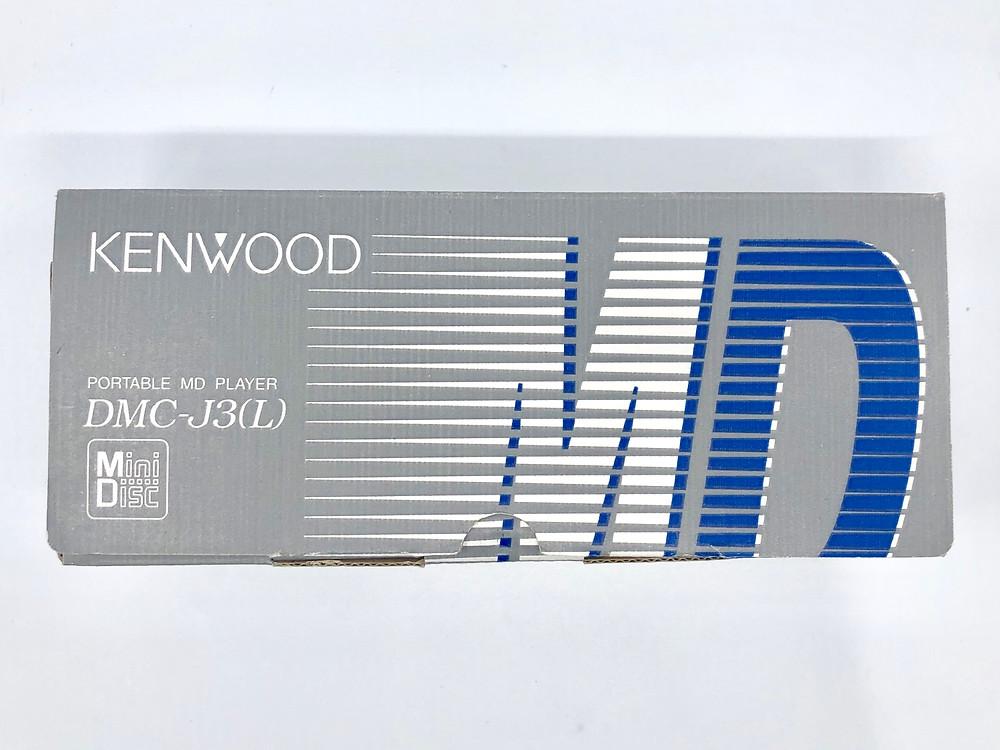 Kenwood DMC-J3L Portable MiniDisc Player Blue Mild Seven Ski Rally 99 Special Edition.