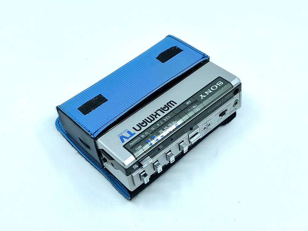 Sony Walkman WM-F55 Portable Cassette Player