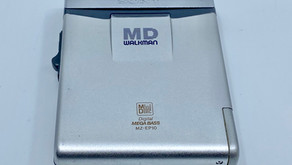 Sony MD Walkman MZ-EP10 MiniDisc Player