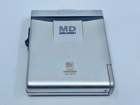 Sony MD Walkman MZ-EP10 MiniDisc Player