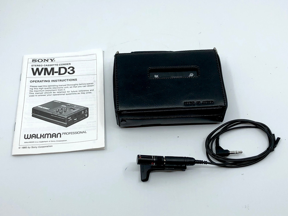 Sony Walkman WM-D3 Professional Cassette Recorder