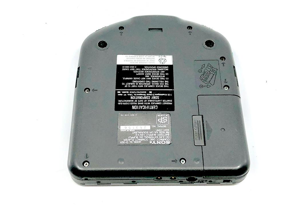 Sony Discman D-321 Portable CD Player