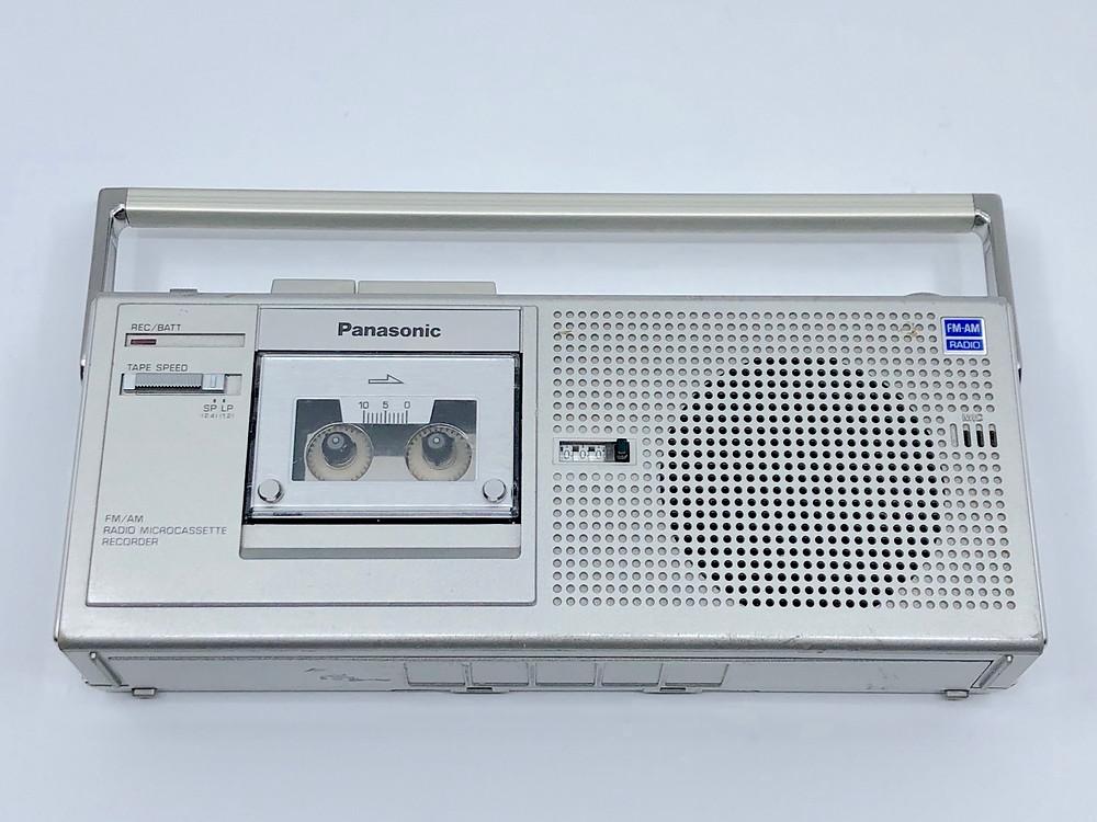 Panasonic RN500 Microcassette Boombox