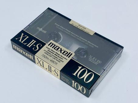 Maxell XL II-S CrO2 Type II Cassette Tape