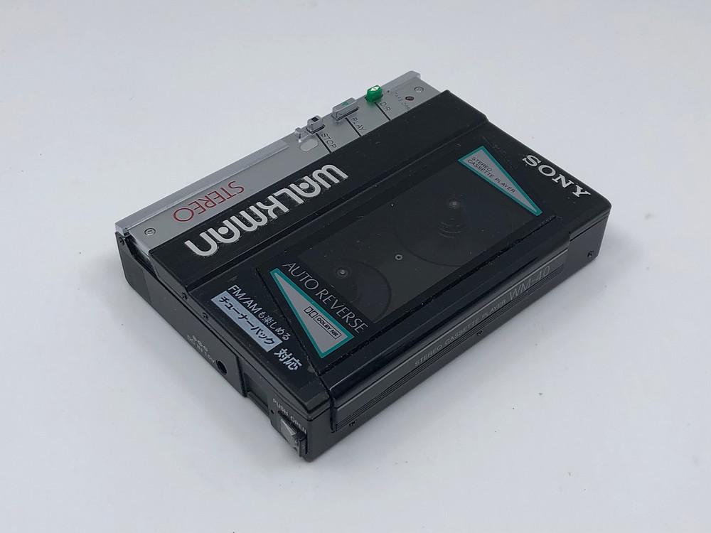 Sony Walkman WM-40 Black Portable Cassette Player