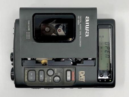 Aiwa HD-S200 DAT Digital Audio Tape Recorder