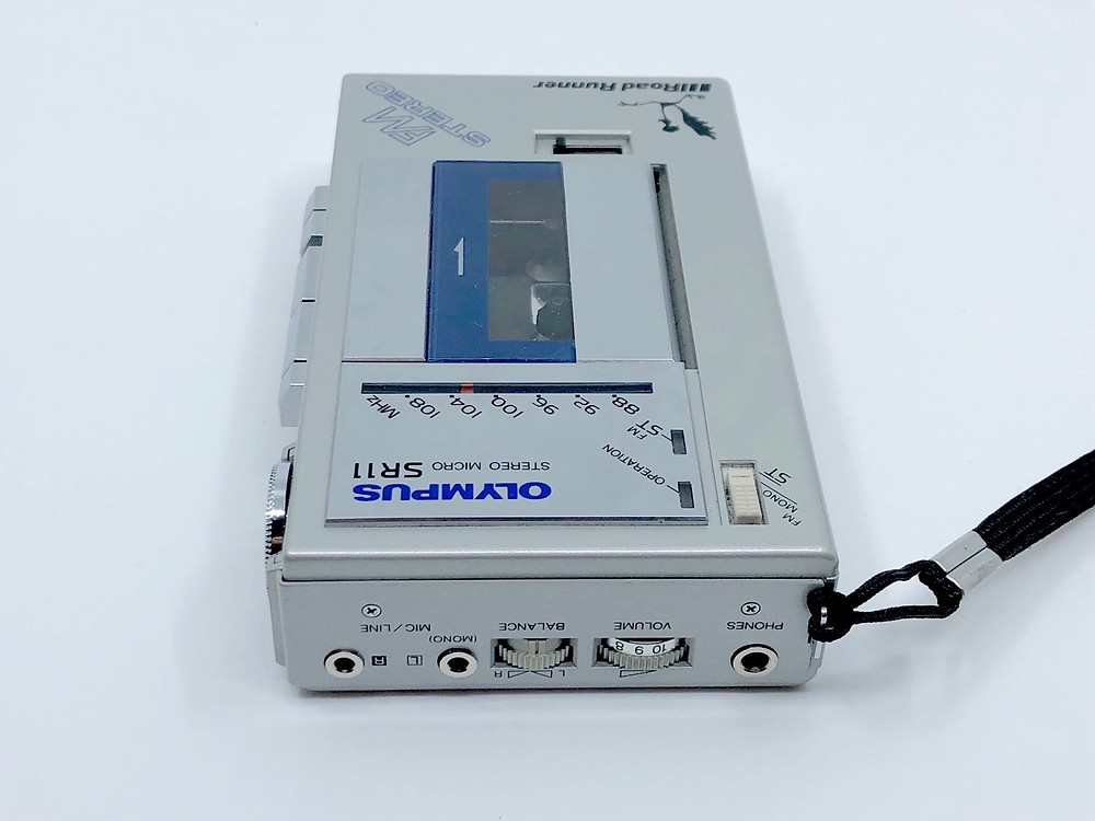 Olympus SR11 Stereo Microcassette Recorder with Radio