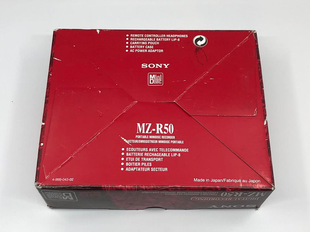 Sony MZ-R50 Blue MD Recorder