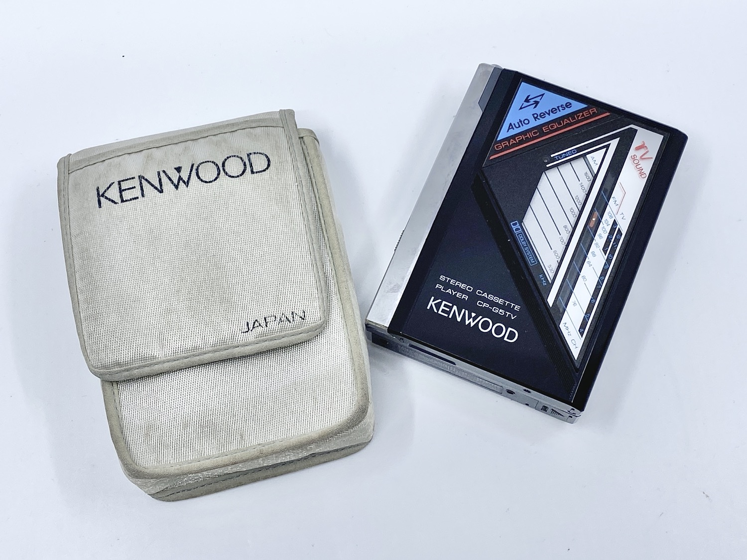 Kenwood CP-G5TV Portable Cassette Player