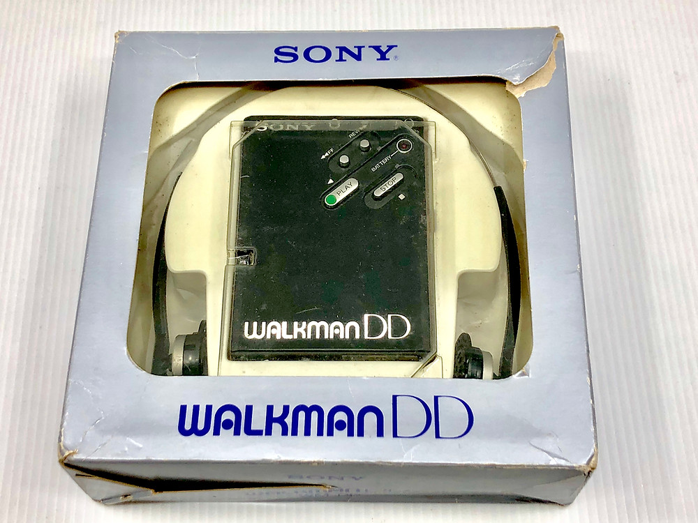 Sony Walkman WM-DDI Black Portable Cassette Player