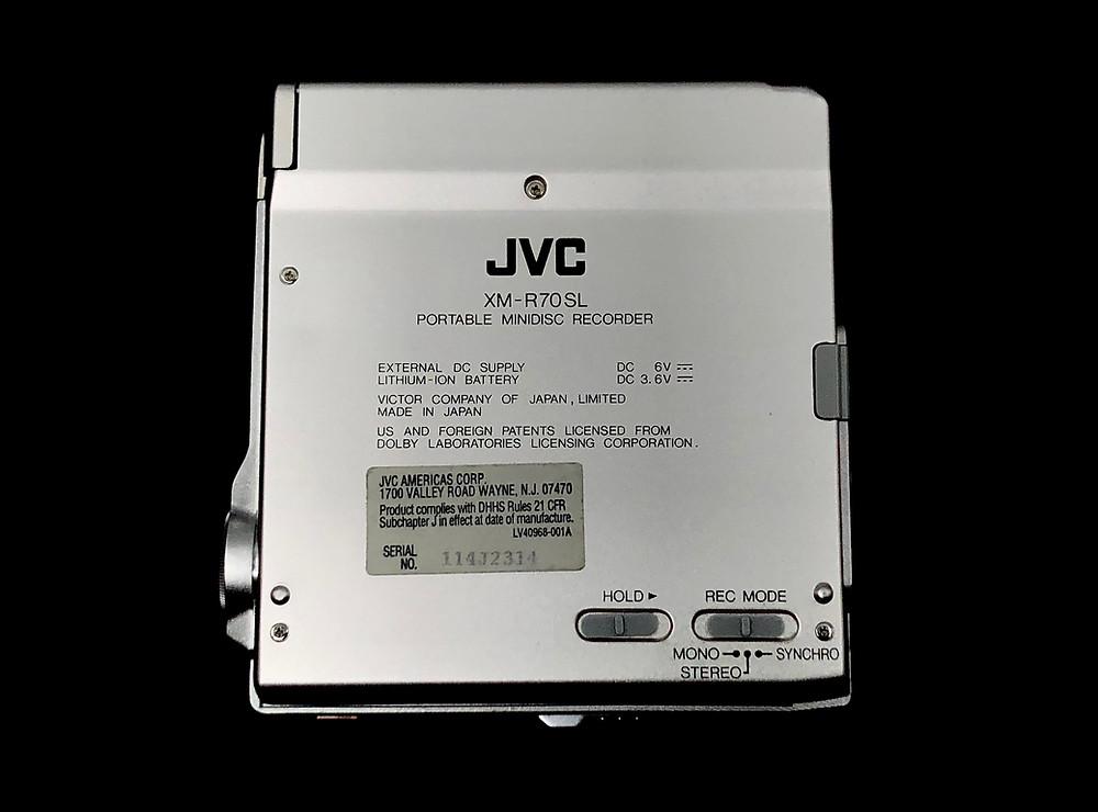 JVC XM-R70SL Silver MD Recorder