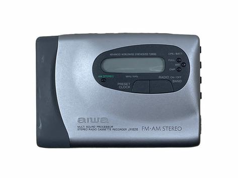 Aiwa HS-JX828 Portable Cassette Player