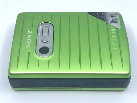 Sony Walkman WM-MV1 Portable Cassette Player