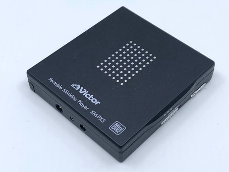 Victor XM-PX5 Black MiniDisc Player