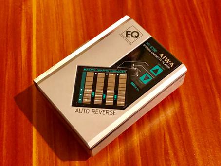 Aiwa HS-G350 Portable Cassette Player