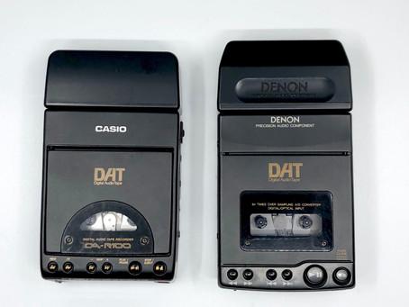 Casio DA-R100 and Denon DTR-80P Portable DAT Recorders