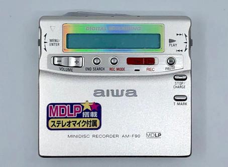 Aiwa AM-F90 MiniDisc MD Recorder