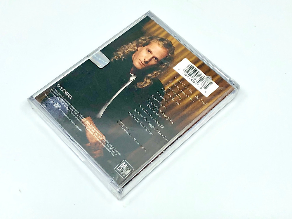 Michael Bolton The One Thing MD Album