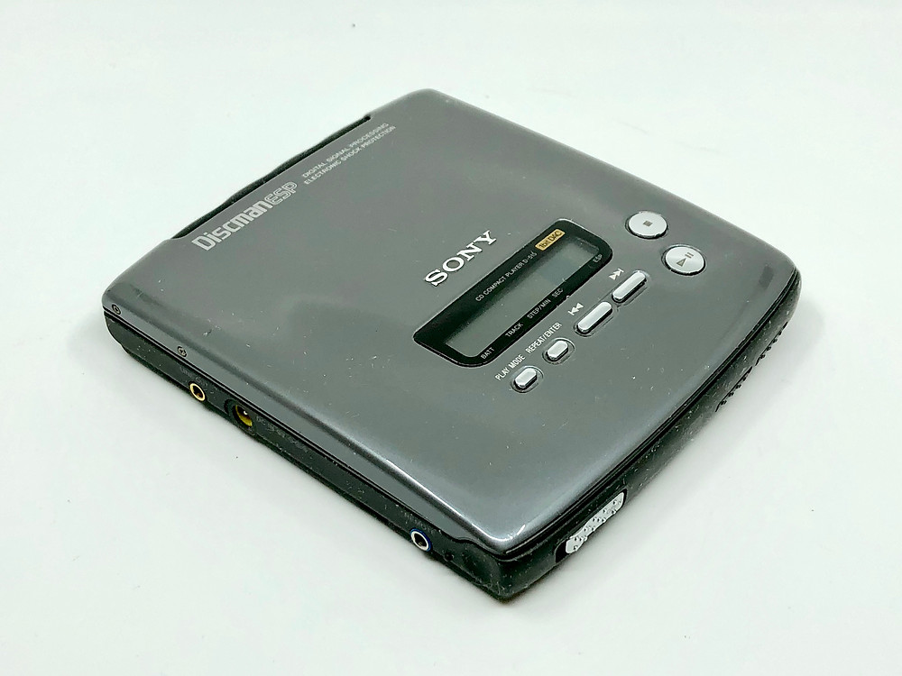 Sony Discman D-515 Portable Compact Disc CD Player