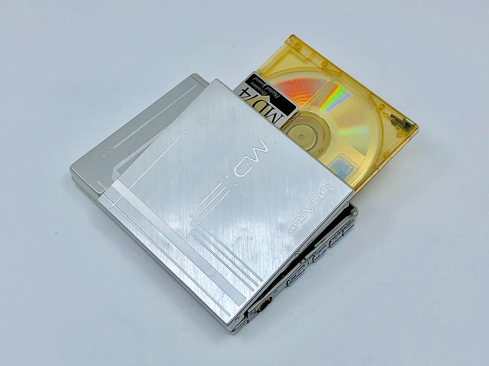 Sharp MD-ST60S MiniDisc Player