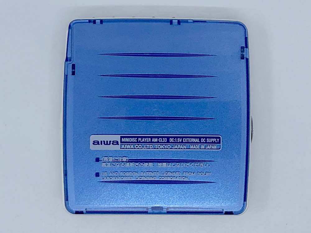 Aiwa AM-CL33 Blue MiniDisc MD Player