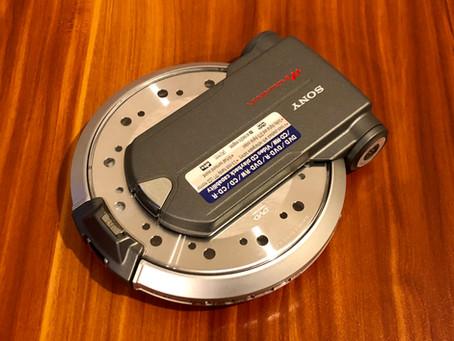 Sony D-VM1 Silver Portable DVD CD Player