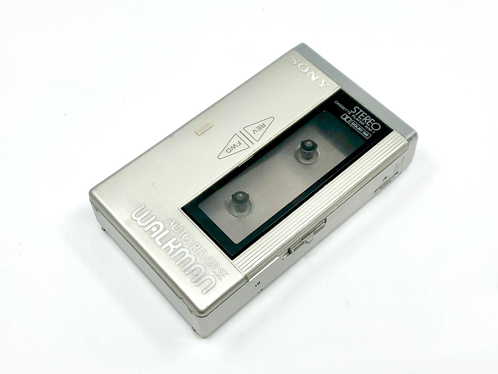 Sony Walkman WM-7 Silver Portable Cassette Player