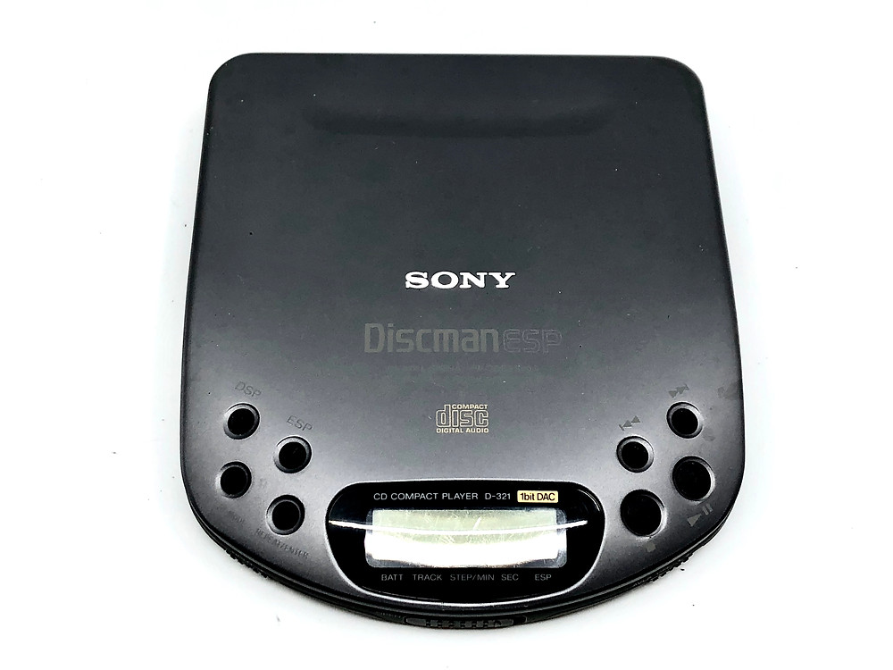 Sony Discman D-321 Portable CD Player