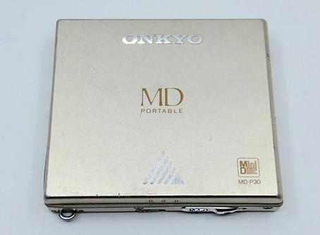 Onkyo MD-P30 Champagne MiniDisc Player