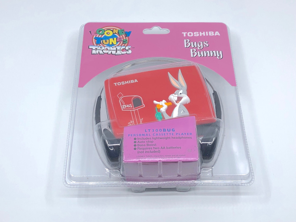 Toshiba Bugs Bunny Tweely Cassette Player