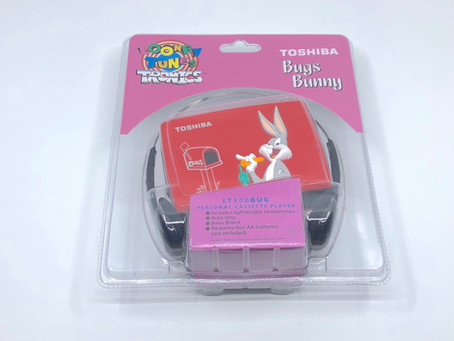 Toshiba Bugs Bunny Tweely Cassette Player