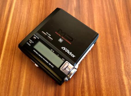 Victor XM-R70 Black MD Recorder