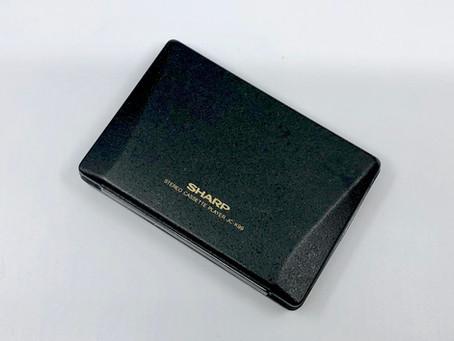 Sharp JC-K99 - The World's Lightest Portable Cassette Player