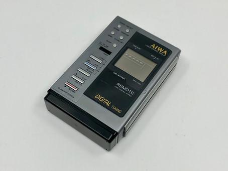Aiwa HS-JX10 Portable Cassette Player Grey