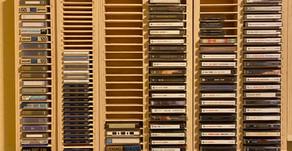 Custom Made MD, DAT, Cassette Racks