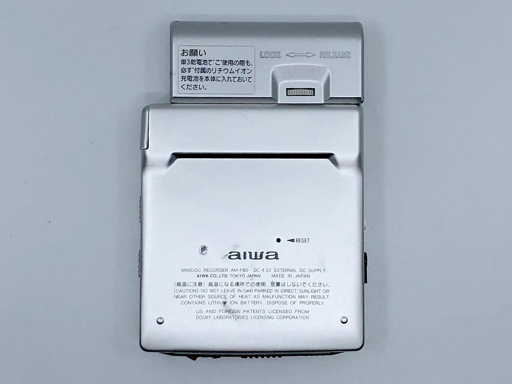 Aiwa AM-F80 MiniDisc MD Recorder