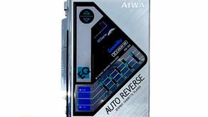 Aiwa CassetteBoy HS-G9 Portable Cassette Player Silver