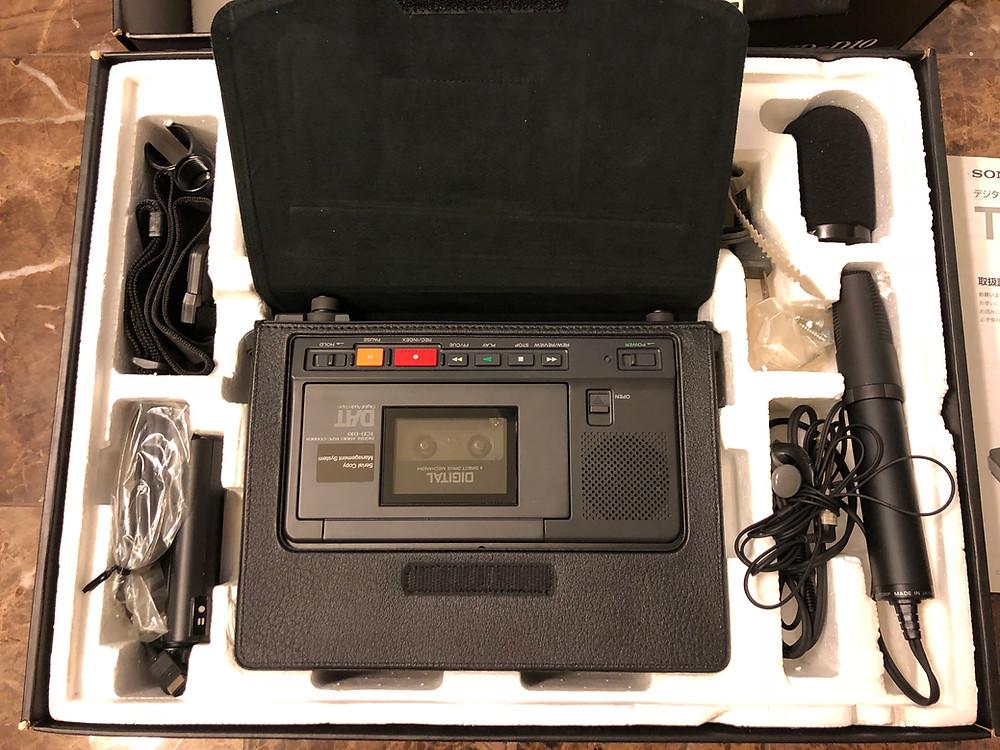 SONY TCD-D10, TCD-D10 Pro, TCD-D10 Pro II DAT Recorder
