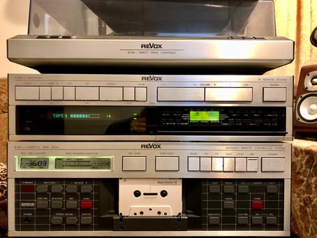 Revox Amplifier, Cassette, Turntable, CD player deck