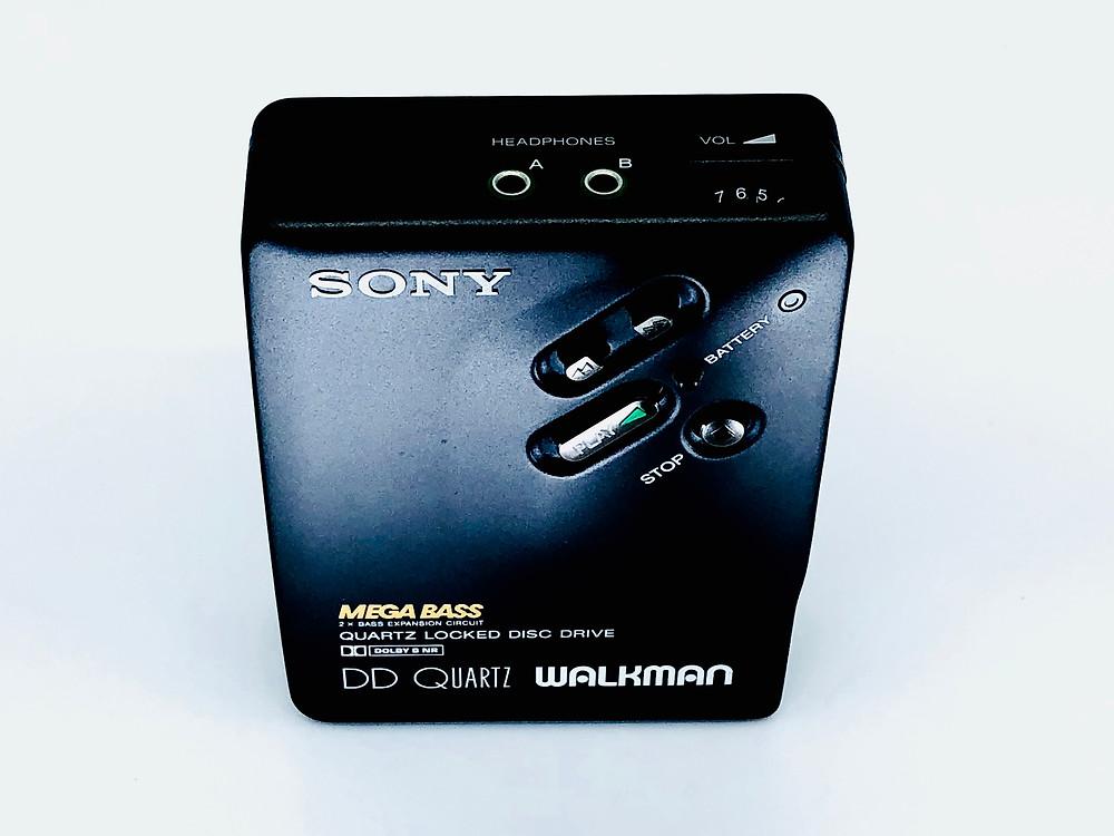 Sony Walkman WM-DD33 Portable Cassette Player