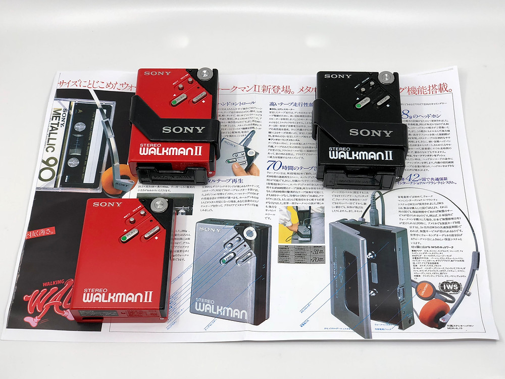 Sony Walkman WM-2 Portable Cassette Player