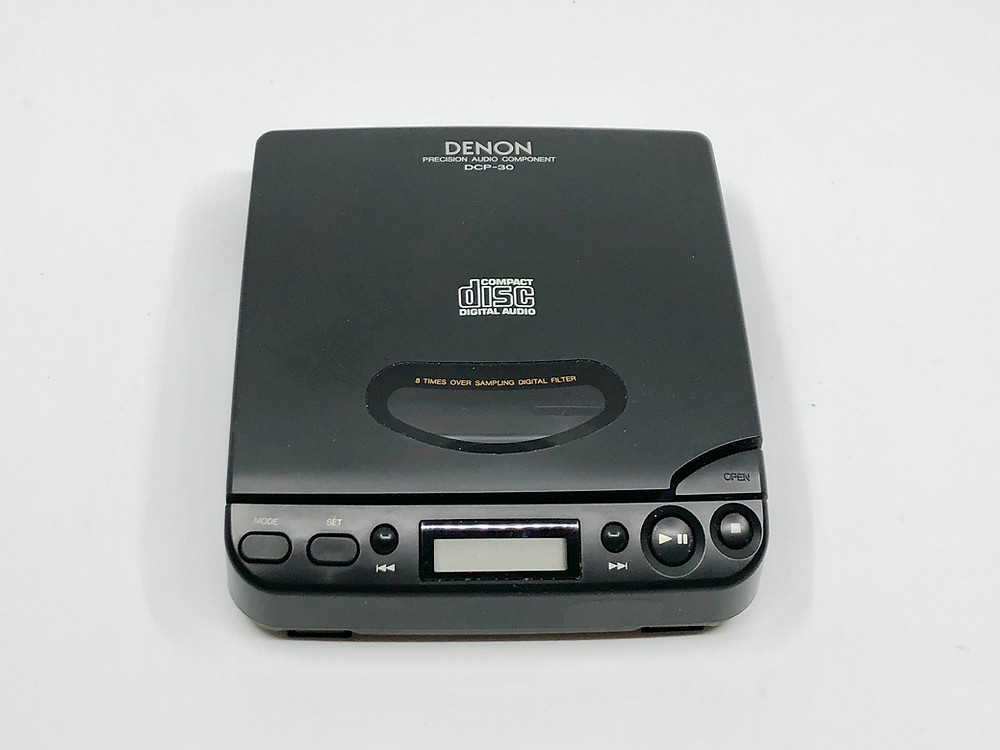 Denon DCP-30 Portable CD Player